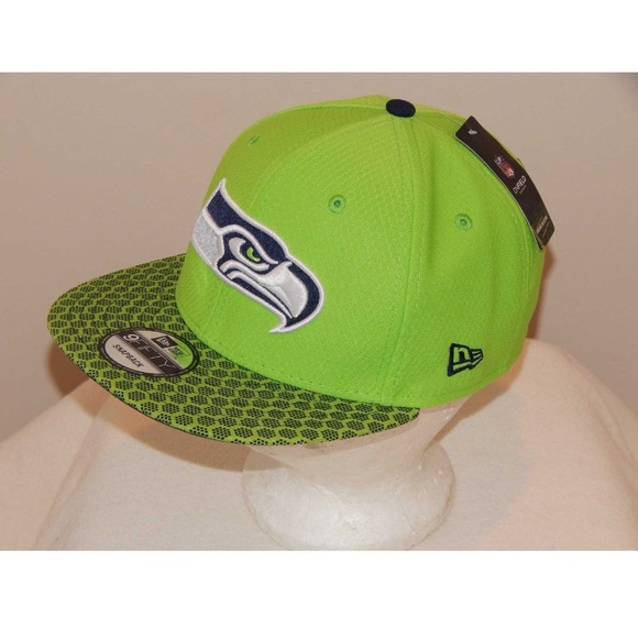 outlet store 25fae b240a New Era Seattle Seahawks NFL 9 Fifty Snapback Hat